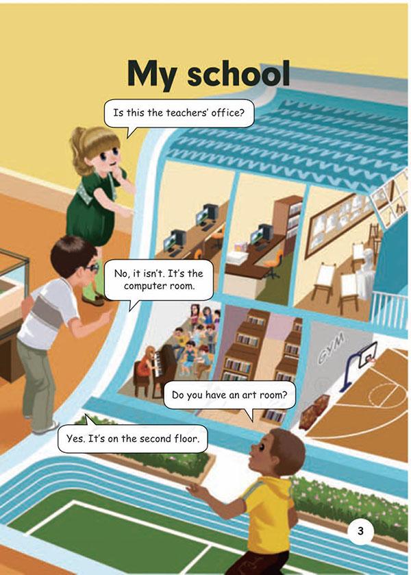 人教版-PEP小学英语四年级下册电子课本教材