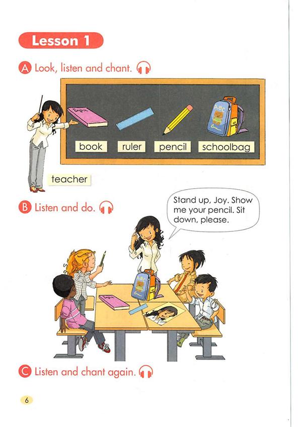 人教版(新起点)英语一年级上册电子课本教材